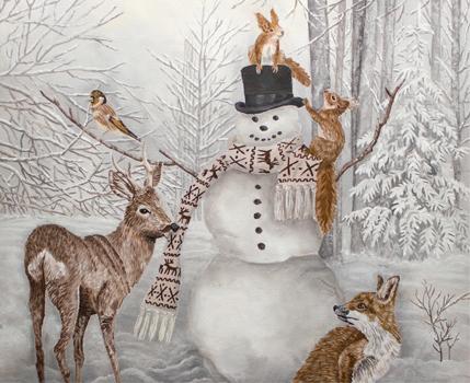 Weihnachtsbilder Klassisch.Klassische Malerei Sina Holste Freie Malerei