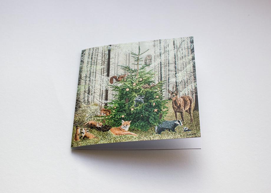 Weihnachtskarte 17